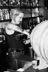 Whiskey Bonanza 2019 at The Twisted Tail in B+W - 2
