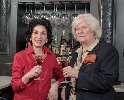 Peggy Noe Stevens and Susan Reigler